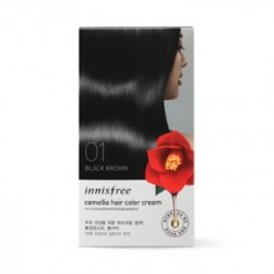 INNISFREE CAMELLIA HAIR COLOR CREAM 20g*3+20g*3