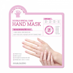DOUBLE & ZERO Double Moisture Collagen Coating Hand Mask 10ea
