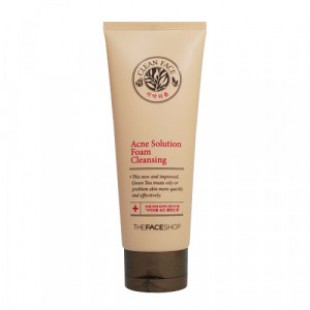 THE FACE SHOP Acne Solution Foam Cleanser (Salicylic Acid) 150ml