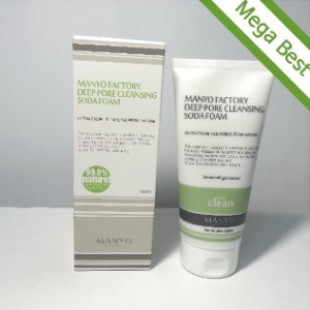 MANYO FACTORY Deep Pore Cleansing Soda Foam 150ml