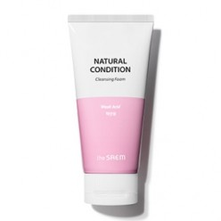 THE SAEM Naural Condition Cleansing Foam [Weak Acid] 150ml