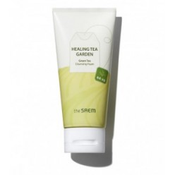 THE SAEM Healing Garden Green Tea Cleansing Foam 150ml