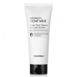 TONYMOLY Naturalth Goat Milk Cream Foam Cleanser 200ml