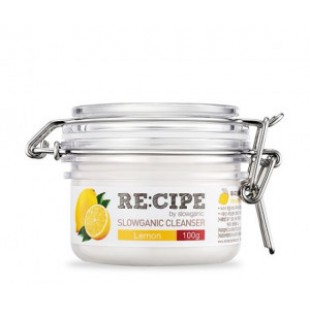 RE:CIPE Slowganic Cleanser Lemon 100g