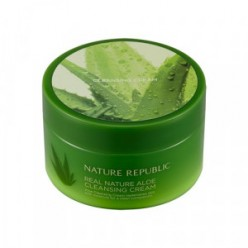 NATURE REPUBLIC Real Nature Cleansing Cream - Aloe 200ml