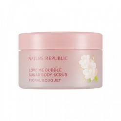 NATURE REPUBLIC Love Me Bubble Sugar Body Scrub