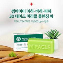 SOMEBYMI AHA BHA PHA 30Days Miracle Cleansing Bar 1ea