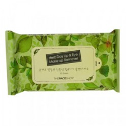 [THE FACE SHOP] Herb Day Lip & Eye Makeup Remover Tissue 30sheets