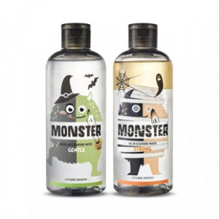 ETUDE HOUSE Monster Cleansing Water Duo Special Set 300ml*2 [Halloween Edition]
