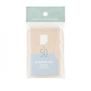 THE FACE SHOP Oil Blotting Flims 50ea