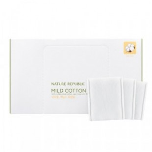 NATURE REPUBLIC Beauty Tool Natural Mild Cotton Wipe 80ea