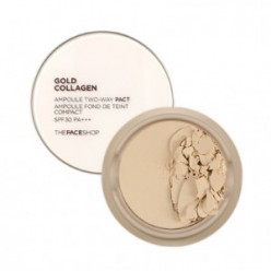THE FACE SHOP Cold Collagen Ampoule Two-Way Pact SPF30 PA+++ 9.5g