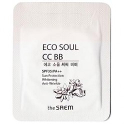 The Saem Eco Soul CC BB SPF35/PA++ 1ml*10ea