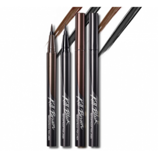CLIO Waterproof Pen Liner kill Black,Kill Brown 0.55ml
