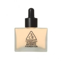 STYLENANDA 3CE GLOSSING WATERFUL FOUNDATION 40g