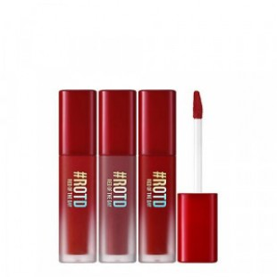 TONYMOLY Lip Market Velvet Smudging Tint #ROTD Red Of The Day Edition