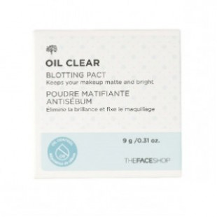THE FACE SHOP Oil clear Smooth & Bright Pact SPF 30 PA++
