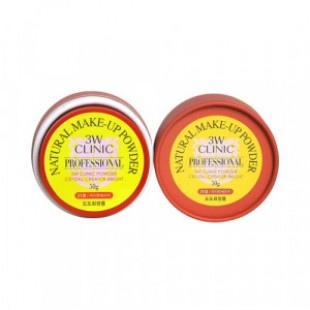 3W CLINIC Natural Make-up Powder 50g