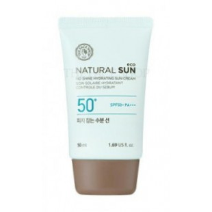 THE FACE SHOP Natural Sun Eco No Shine Hydrating Sun Cream SPF 50 PA+++ 50ml