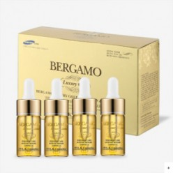 BERGAMO Luxury Gold Ampoule Set 13ml*4ea