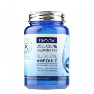 FARMSTAY Collagen & Hyaluronic Acid All In One Ampoule 250ml