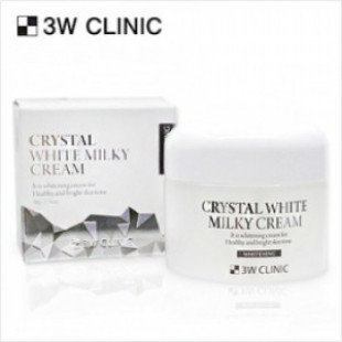 3W CLINIC Crystal White Milky Cream 50g