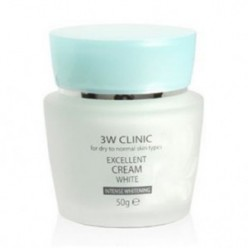 3W CLINIC Excellent Cream White Cream 50g