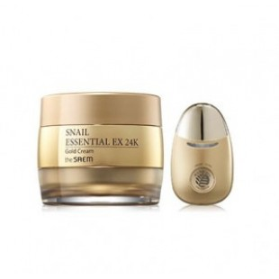 THE SAEM SNAIL ESSENTIAL EX 24K GOLD CREAM SET