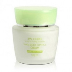 3W CLINIC Snail Moist control Cream 50g