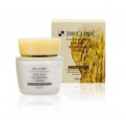 3W Clinic Rice Deep Nourishing Cream 50g
