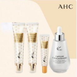 AHC The Pure Real Eye Cream 30ml*2ea +12ml*1ea+ ampoule *1ea