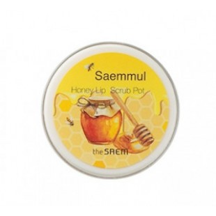 THE SAEM Saemmul Honey Lip Scrub Pot 7g