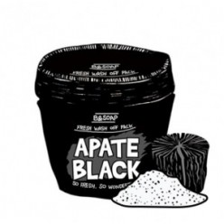 B&SOAP Apate Black Fresh wash off pack
