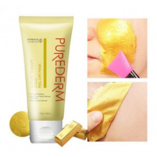 PureDerm Luxuty Therapy Gold Peel-Off mask 100g