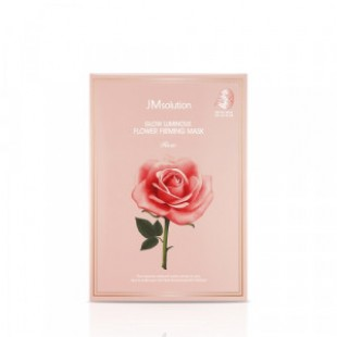 JM SOLUTION Glow Luminous Flower Firming Mask Rose 30ml*10ea