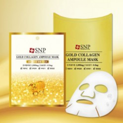SNP Gold Collagen Ampoule Mask 25ml*10ea