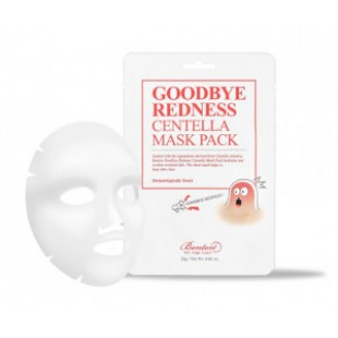 BENTON Good Bye Redness Centella Mask Pack 23g*10ea