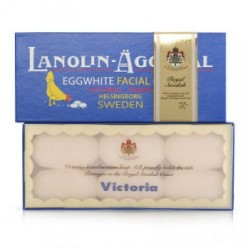 VICTORIA Sweden Egg Pack Lanolin&Rose water BOX (50g*6)