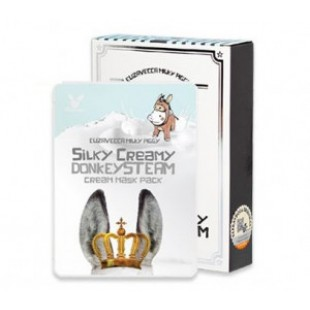 ELIZAVECCA Donkey steam cream mask pack *10sheet