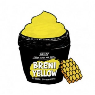B&SOAP Breni Yellow fresh wash off pack 130g