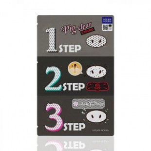 HOLIKA HOLIKA Pig Nose Clear Blackhead 3-step Kit STRONG