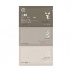 THE FACE SHOP Jeju Volcanic Lava Black Head 3 Step Nose Pack 1ea