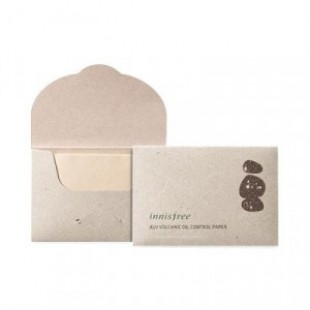 INNISFREE Beauty Tool Jeju Volcanic Oil Control Paper 50pcs