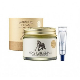 CHARMZONE Horse oil cream golden complex 70g+peptider eyecream 25ml