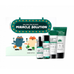 SOME BY MI AHA BHA PHA 30 Days Miracle Solution 4-Step Kit 30ml+10ml+20g+25ml