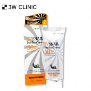 3W CLINIC UV Snail Day Sun Cream SPF 50+/PA+++ 70ml