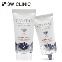 3W CLINIC Crystal White Milky Sun Cream SPF 50+/PA+++ 50ml