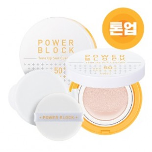 APIEU Power Block Tone Up Sun Cushion 14g SPF50+ PA++++