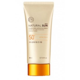 THE FACE SHOP Natural Sun Eco Power Long-Lasting Sun Cream SPF50+ PA+++ 80ml