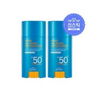SCINIC Enjoy All Round Airy sun stick SPF50+/PA++++ 25ml (1+1)